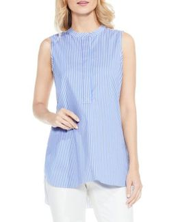 Reverse Stripe Blouse