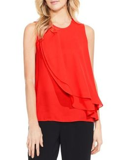 Double Layer Front Blouse