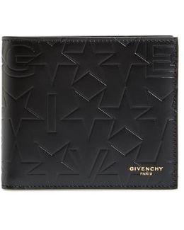 Black Logo-embossed Wallet