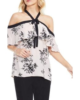 Bouquet Ruffle Off The Shoulder Blouse