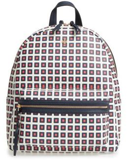 Kerrington Faux Leather Backpack