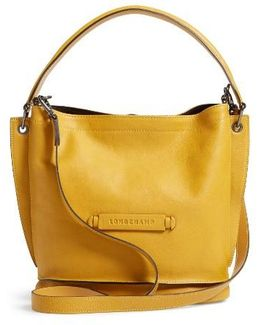 3d Leather Crossbody Hobo