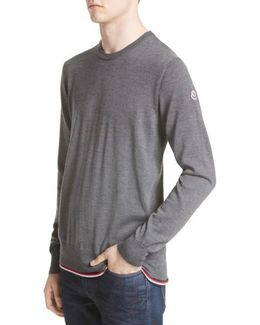 Maglione Tipped Wool Sweater
