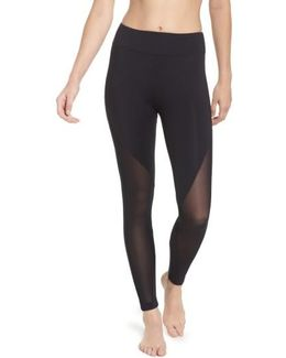 High Rise Lucent Crop Leggings