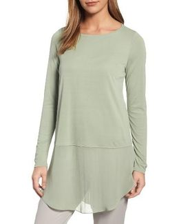 Silk Layer Look Tunic