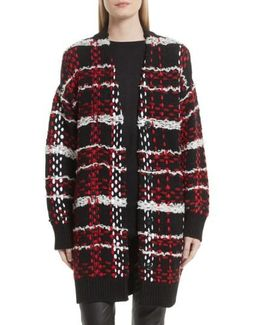 Dawson Plaid Knit Coat
