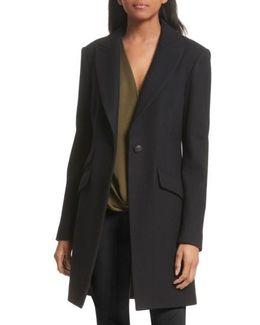 Duchess Wool Blend Coat