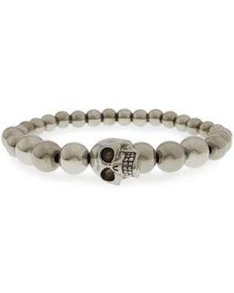 Skull Ball Bracelet