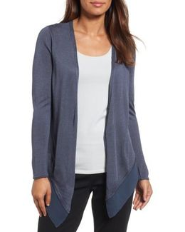 Paired Up Silk Blend Cardigan