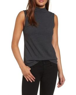 The Perfect Mock Neck Top