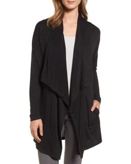 Every Occasion Drape Front Jacket