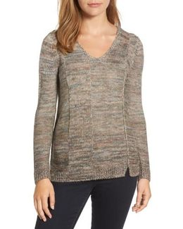 Textured Ombre Sweater