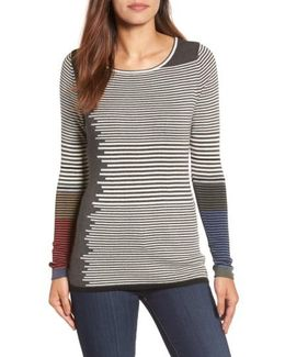 Metro Stripe Sweater