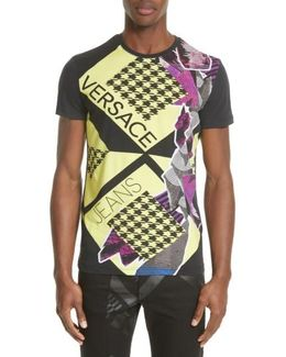 Houndstooth Collage T-shirt