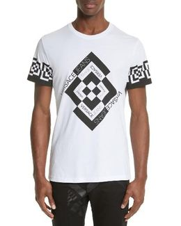 Greek Key Crewneck T-shirt
