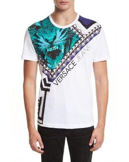 Houndstooth Tiger T-shirt