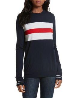 Boyfriend Knit Merino Wool Sweater
