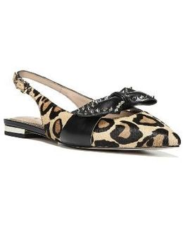 Rupert Bow Pointy Toe Flat