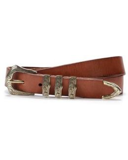 Abigail Leather Belt