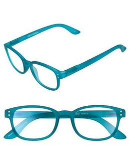 Colorspex 50mm Blue Light Blocking Reading Glasses - Teal