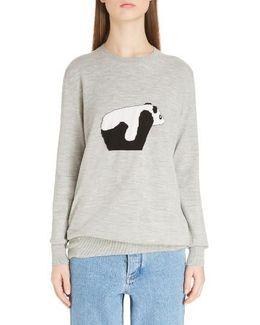 Panda Virgin Wool Sweater