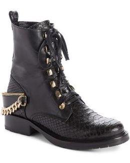 Chain Biker Boot