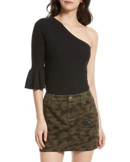 Wappo One-shoulder Sweater