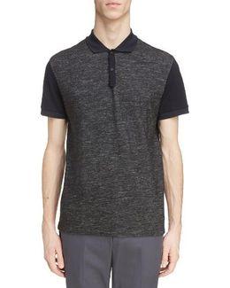Wool Blend & Cotton Polo