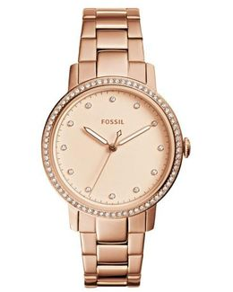 Dress Neely Studded Stainless Steel Watch