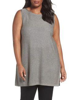 Tencel & Wool Sleeveless Tunic