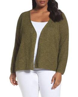 Organic Linen & Cotton Cardigan