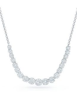 Riviera Diamond Pendant Necklace