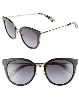 Jazzlyn 51mm Cat Eye Sunglasses