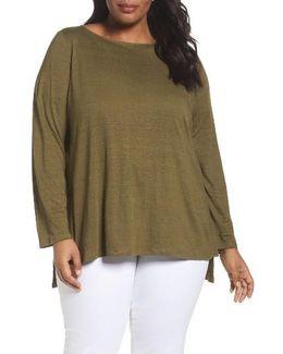 Organic Linen Sweater