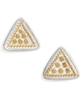 Mini Triangle Stud Earrings