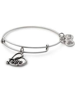 Love Expandable Charm Bracelet