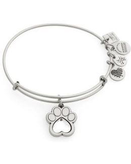 Prints Of Love Adjustable Wire Bangle