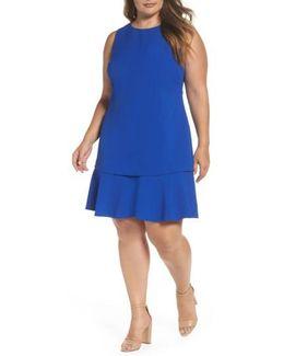 Tiered Drop Waist A-line Dress