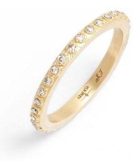 Sueno Champagne Diamond Band Ring