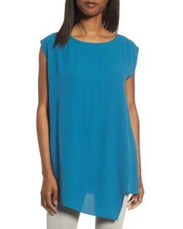 Asymmetrical Silk Tunic