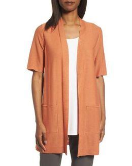 Simple Tencel & Merino Wool Cardigan