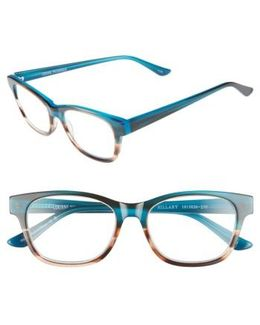 Hillary 50mm Reading Glasses - Turquoise