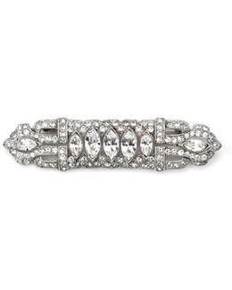 Art Deco Crystal Brooch