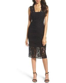 Cynthia Lace Sheath Dress