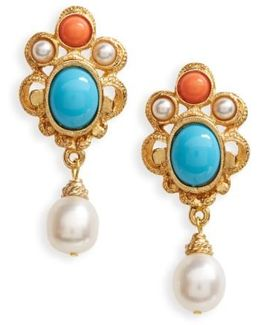 Adriatic Sea Drop Earrings