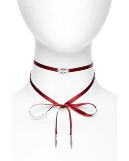 Wrap Choker Necklace