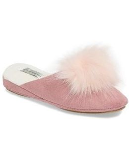 Pretty Pouf Faux Fur Slipper