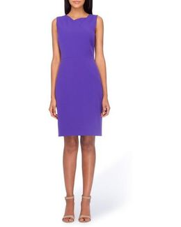Asymmetrical Sheath Dress