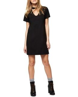 Madeline Choker Shift Dress