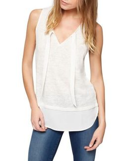 Emma Tie Neck Top